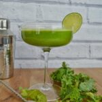 Kale cocktail - a white shade of kale
