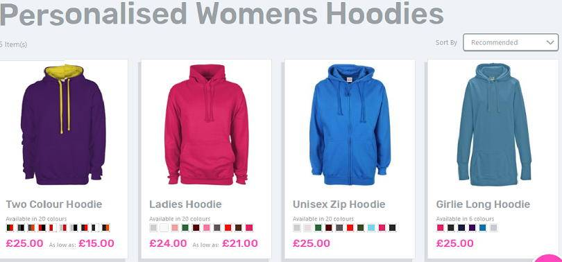 Design your own hoodie with YourDesign