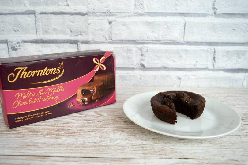 Thorntons chocolate puddings