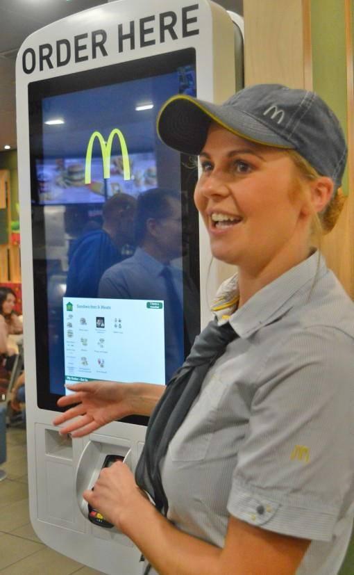 ordering at McDonald's