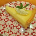 Lemon tart from Cafe Rouge