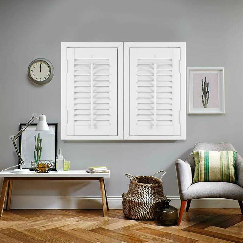 Wooden window shutters from direct blinds