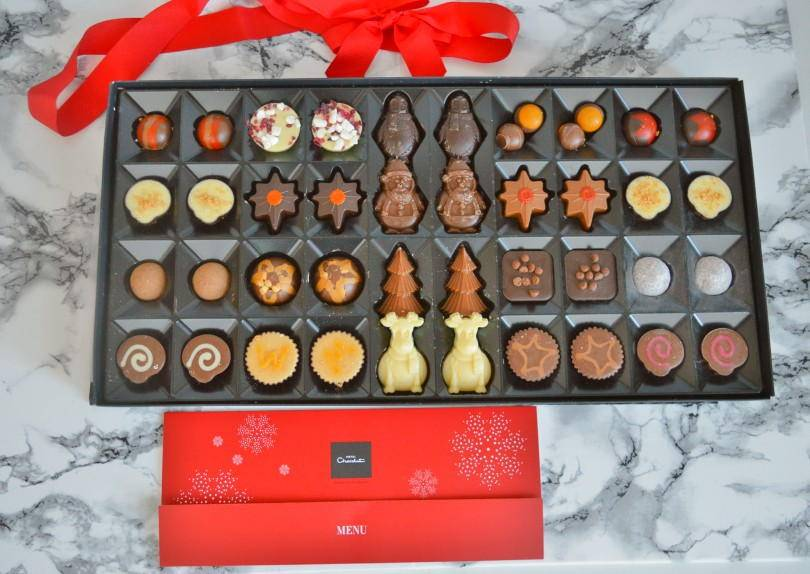 Hotel Chocolate Christmas luxe box