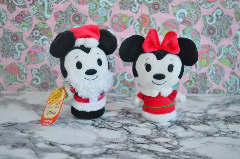 Chrismas Micky and Minnie Mouse Itty-Bitty from Hallmark