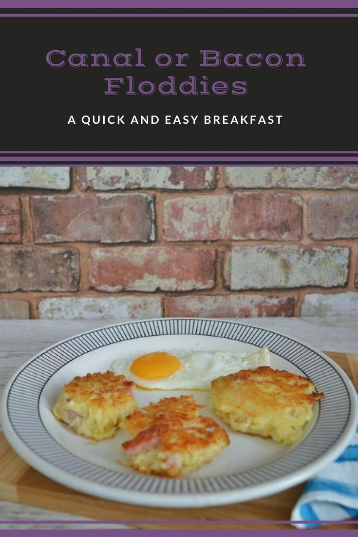 CAnal or bacon floddies. A traditional recipe from North East England. Made from grated potato, grated onion and bacon they are great for breakfast. Click for the recipe