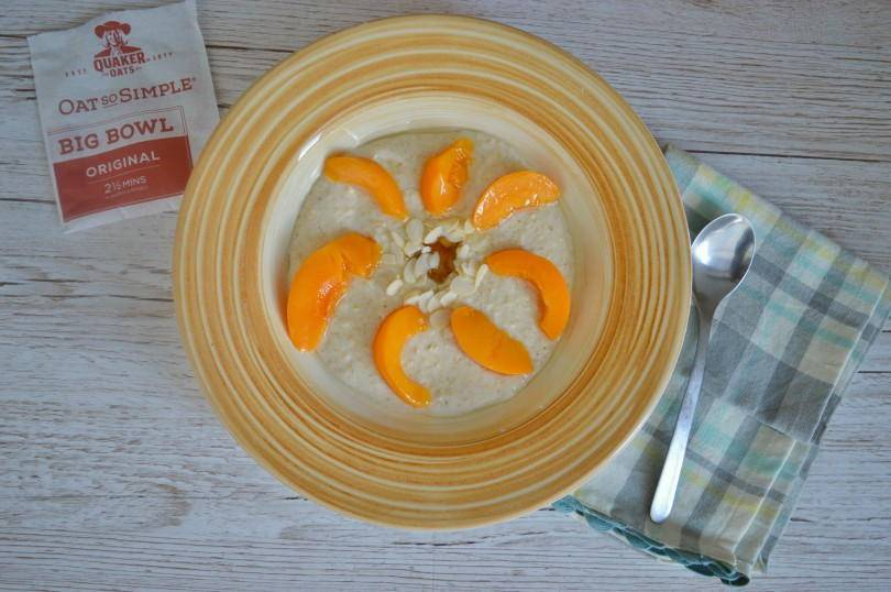Peach porridge