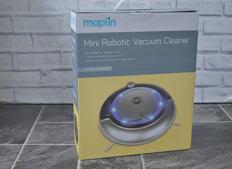 Maplin Mini Robotic Vacuum Cleaner Review