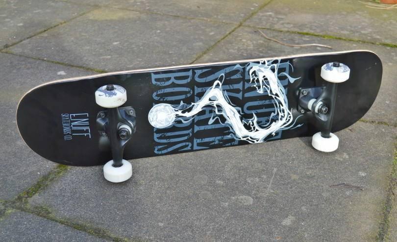 Skateboard from skates