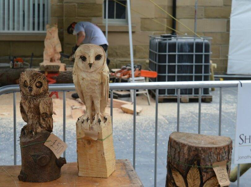 Maker Faire 2018 Sherwood Carving