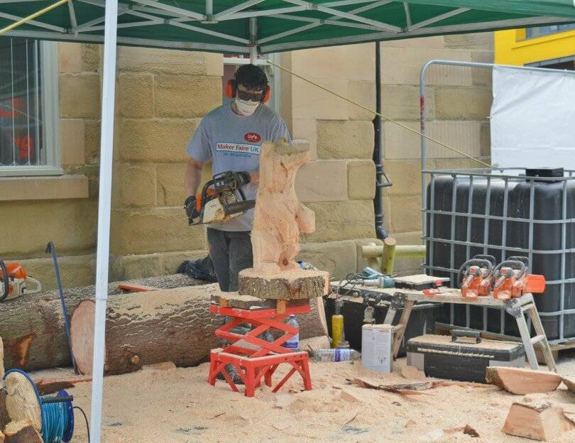 Maker Faire 2018 - Sherwood Carving