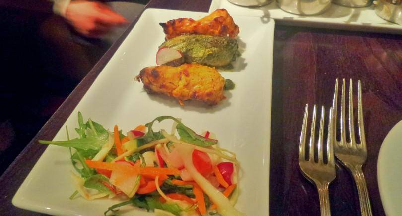 murgh tikka three ways at Sachins