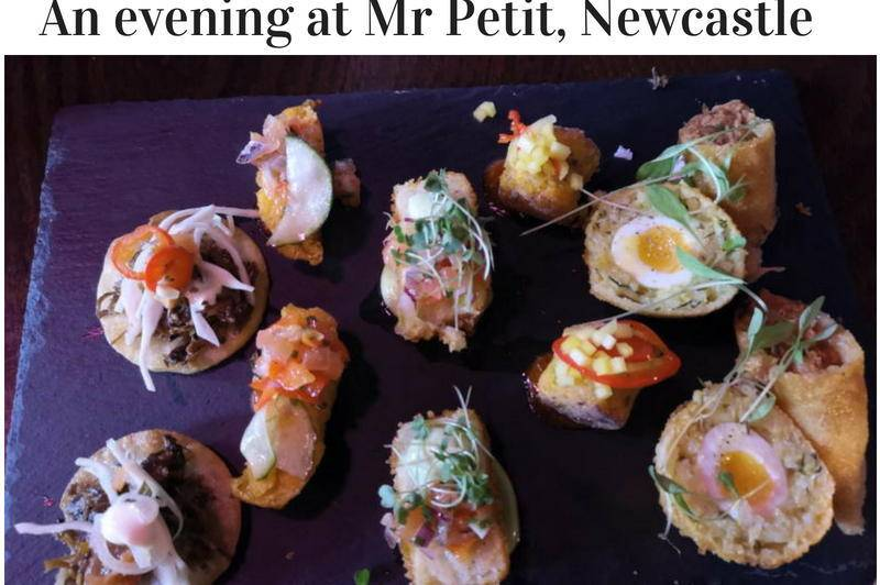 An evening at Mr Petit, Newcastle
