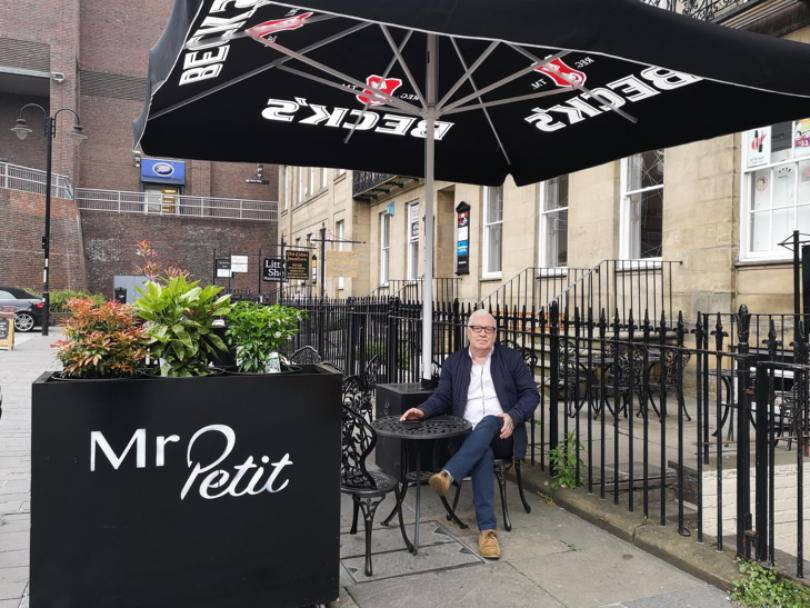 Mr Petit in Newcastle - the outside