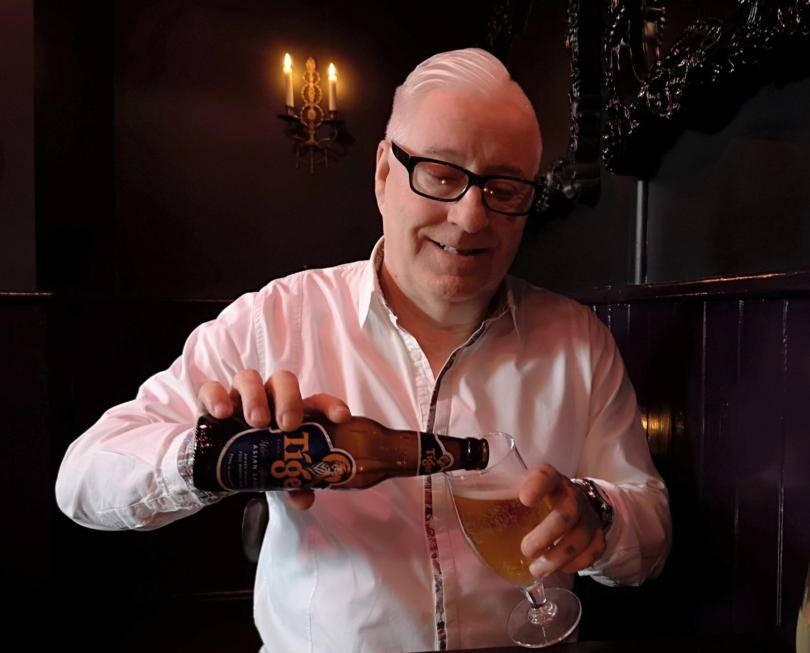 Enjoying drinks at Mr :Petit Newcastle