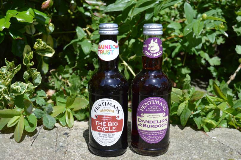Fentimans soft drinks - ginger beer and dandelion and burdock