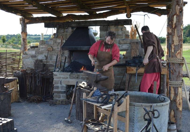 Blacksmiths at Kynren