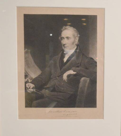 George Stephenson photo at Disvoery Msueum