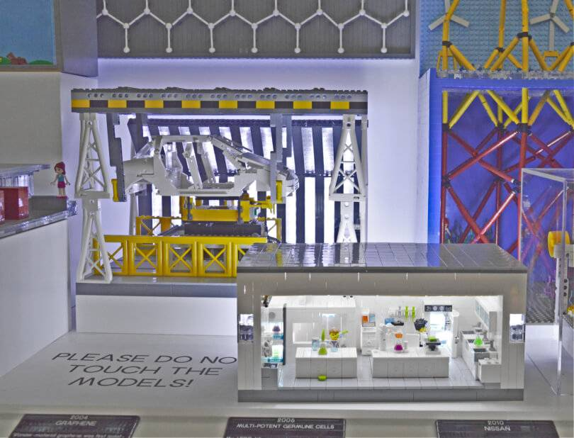Lego timeline of Northern Innovation