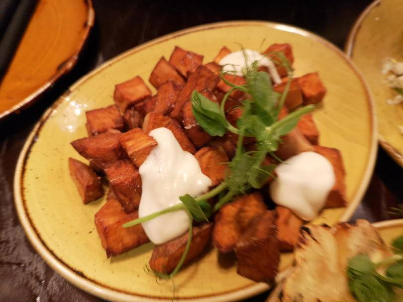 Sweet potato bravas at El Paso Jesmond