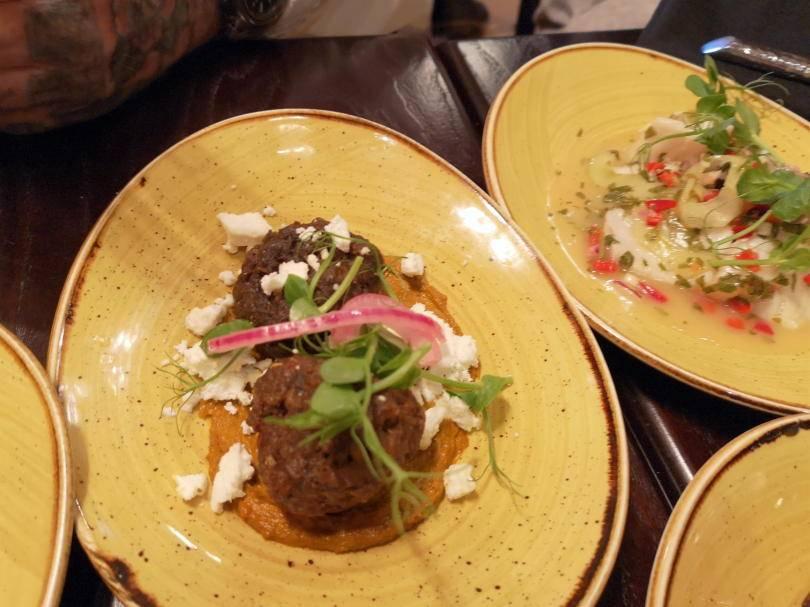 lamb meatballs at El Paso Jesmond
