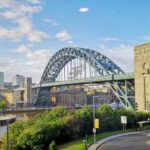 View from the Hilton Gateshead of the River Tyne