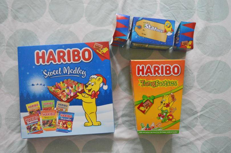 Selection of Haribo sweets