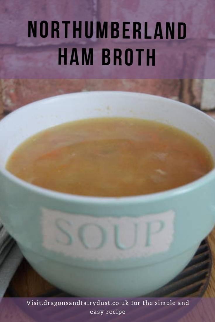 Northumberland ham broth