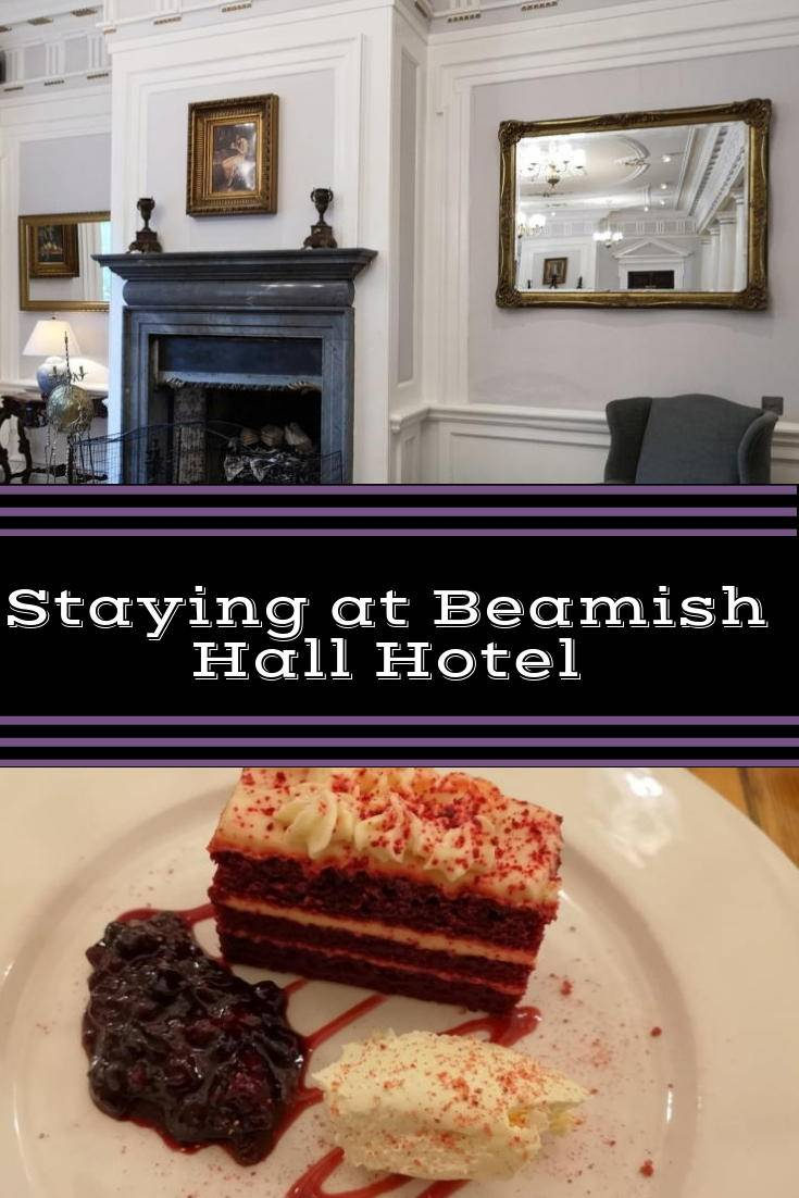 Staying at Beamish hall hotel
