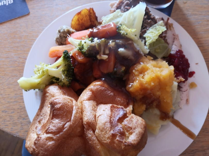 Sunday lunch at the Rose Inn, Wallsend