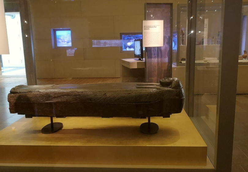Egyptian mummy at Great North Museuum