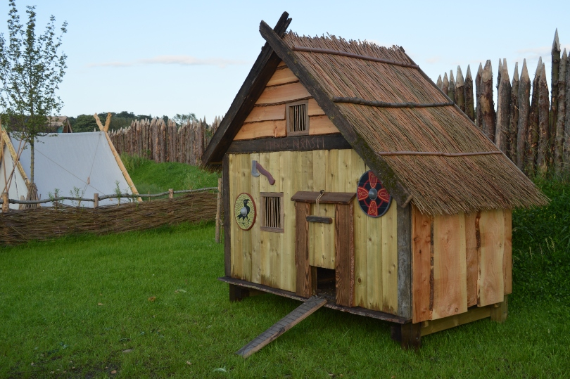House in the Viking Village at Kynren