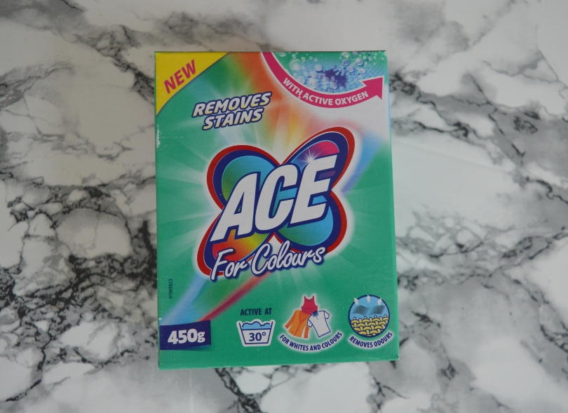 ACE for colours pack on a marble background