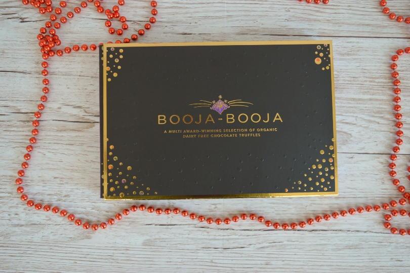 A box of booja-booja truffles