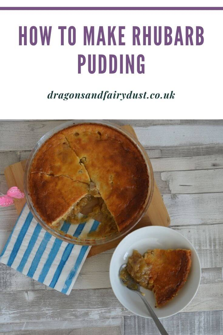 Rhubarb pudding is a delicious and tasty pudding that is easy to make.